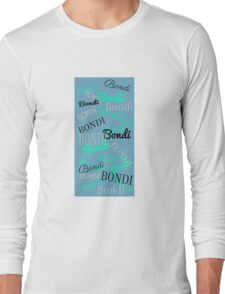 Bondi Beach! Beachy Blue Long Sleeve T-Shirt