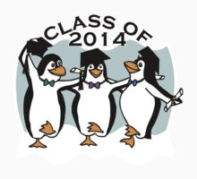 Graduation Penguins - Class of 2014 Kids Clothes