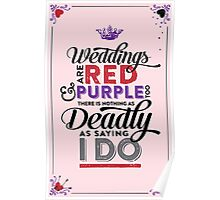 Deadly Weddings Poster