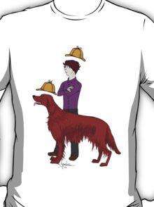 Young Sherlock & Redbeard, Consulting Detectives T-Shirt