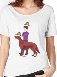 Young Sherlock & Redbeard, Consulting Detectives Women's Relaxed Fit T-Shirt
