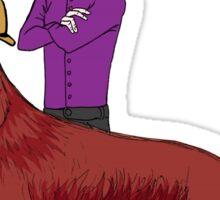 Young Sherlock & Redbeard, Consulting Detectives Sticker