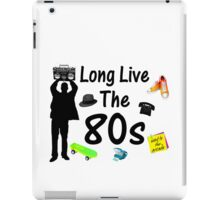 Long Live The 80s Culture iPad Case/Skin