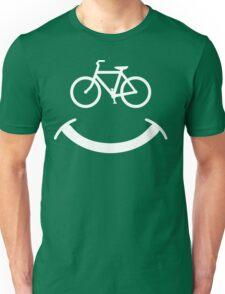 Bicycle Smile T-Shirt Unisex T-Shirt