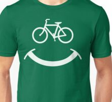 Bicycle Smile T-Shirt Unisex T-Shirt