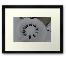 Airplane Engine  Framed Print