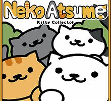 Neko Atsume (Kitty Collector) Sticker by pepe-princess