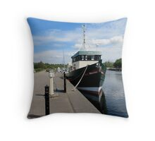 The Caledonian Canal Throw Pillow