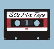 80s Music Mix Tape Cassette Kids Clothes