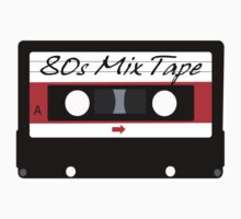 80s Music Mix Tape Cassette by FireFoxxy