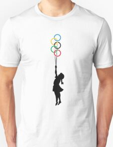 Olympic Dreaming - Banksy tribute T-Shirt