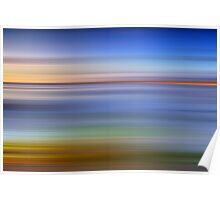 Clachan Sands - Abstract Poster