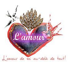 L'Amour - de soi au-delà de tout! Self-love beyond everything! by ScarletRossinni