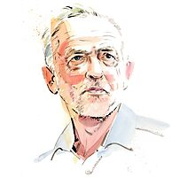 Jeremy Corbyn Photographic Print
