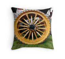 Big Wheels Throw Pillow