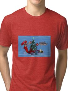 Pause for Thought .. fantasy art Tri-blend T-Shirt