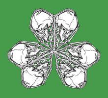 Shamrock Skull N Bones by ZugArt
