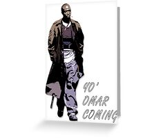 Omar Little Greeting Card