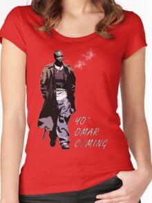 Omar Little Women's Fitted Scoop T-Shirt