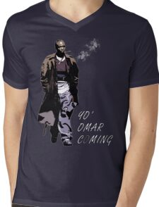 Omar Little Mens V-Neck T-Shirt