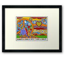 Hippie Reborn Framed Print