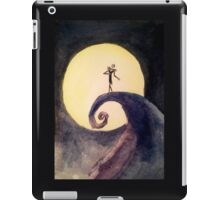 Nightmare Before Christmas Moon iPad Case/Skin