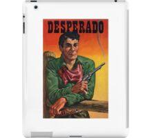 Vintage Desperado iPad Case/Skin