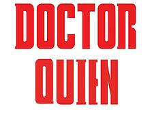 Doctor Quien by Jacob Sotelo