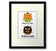 Mr. Gamer Framed Print