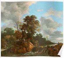 Landscape painting  Poster