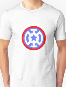 Captain America- Blue Lantern Unisex T-Shirt