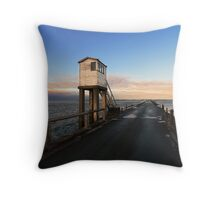 Lindisfarne Causeway Throw Pillow