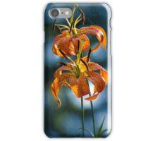 Lilium michauxii iPhone Case/Skin