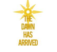 The Dawn Has Arrived - Leona LoL by kasaiki