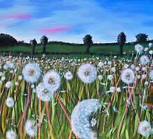 Field of clocks by Paulmayfield