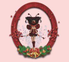 Fairy Christmas Tee  One Piece - Short Sleeve