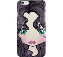 Dollhouse Girl Purple iPhone Case/Skin