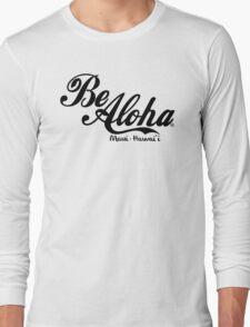 Be Aloha Logo Long Sleeve T-Shirt
