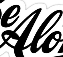 Be Aloha Logo Sticker
