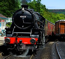 Grosmont Railway Station by Stephen Smith