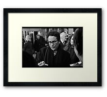 Wait... really? Framed Print