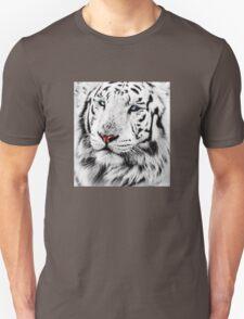 White Tiger Portrait T-Shirt