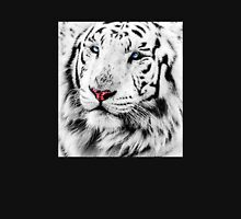 White Tiger Portrait Unisex T-Shirt