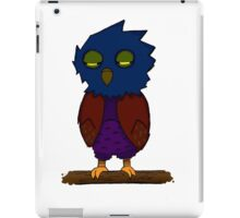 Barrels the Owl iPad Case/Skin