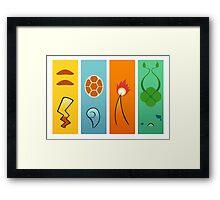 The Starters Framed Print