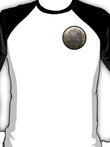 Buzzard Illustration Logo T-Shirt