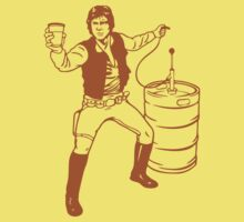 Han solo drinking solo by Jonrabbit