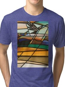 Country House Window: detail 3 Tri-blend T-Shirt