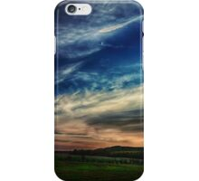 New Moon at Sunset iPhone Case/Skin
