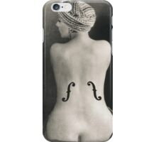 Le Violon d'Ingres iPhone Case/Skin